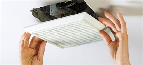 Bathroom Fan Cover by How To Remove A Bathroom Vent Fan Cover Doityourself