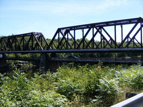 Hawk & Badger Railroad  Railroad Photos  Bridges Of Maine