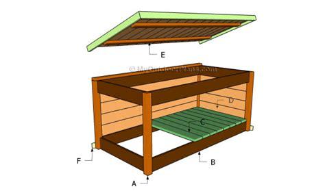 deck box plans myoutdoorplans  woodworking plans