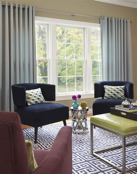 blue velvet chairs living room eclectic with artistic
