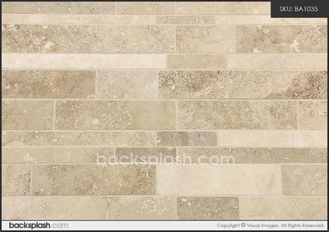 travertine subway mosaic backsplash tile