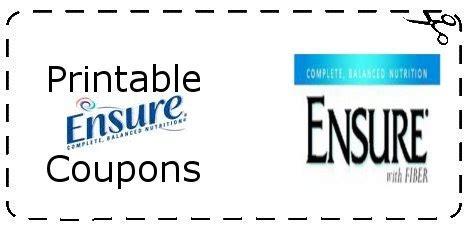 Printable Ensure Coupons | Printable Grocery Coupons