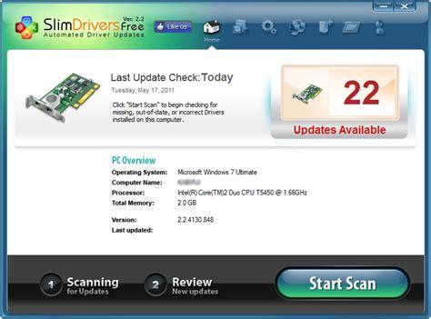 slimware utilities slimdrivers free