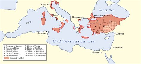 cuisine de constantine byzantine empire map at its height timeline