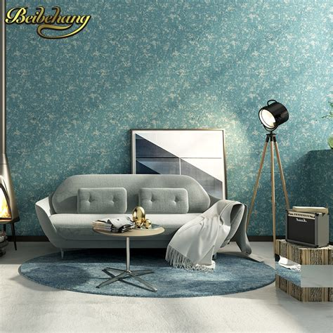 beibehang solid color wallpaper  living room bedroom