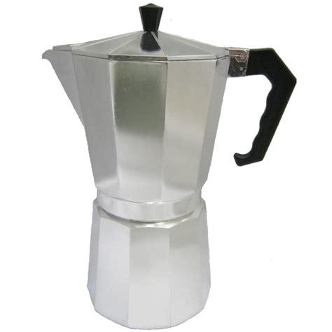 Buy Stove Top Espresso Coffee Pot   12 Cup   Moka   Italian   Shop Online   UK   Europe