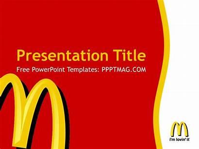 Mcdonalds Powerpoint Template Mcdonald Templates Ppt Background