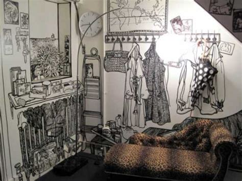 drawing wall designs amazing floor and wall decoration by artist charlotte mann