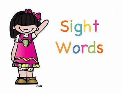 Sight Word Words Clipart Clip Cliparts Gina