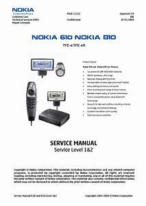 Nokia 610 810 Carphone Sm Service Manual Download