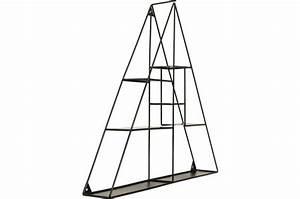 Etagere Murale Triangle : etag re murale filaire kare design triangle deferre etag re pas cher ~ Teatrodelosmanantiales.com Idées de Décoration