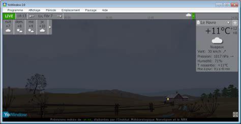 afficher meteo sur bureau windows 7 afficher la météo pendant la veille sur windows 7