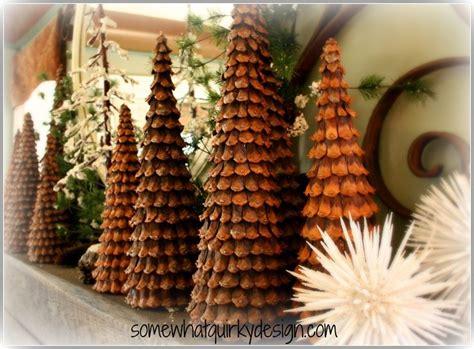 25+ unique Pine cone tree ideas on Pinterest   Christmas