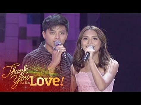 kathryn bernardo singing here are kathryn bernardo and daniel padilla singing a