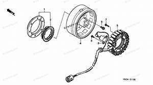Honda Atv 2004 Oem Parts Diagram For Alternator