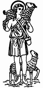 Good Shepherd Line Drawing - ClipArt Best