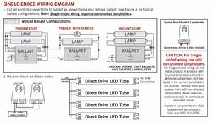 T8 Led Tube Wiring Diagram