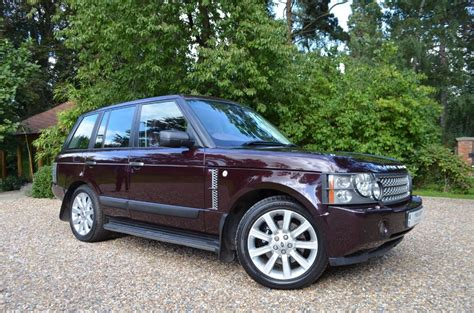 burgundy range rover interior used burgundy metalic land rover range rover for sale