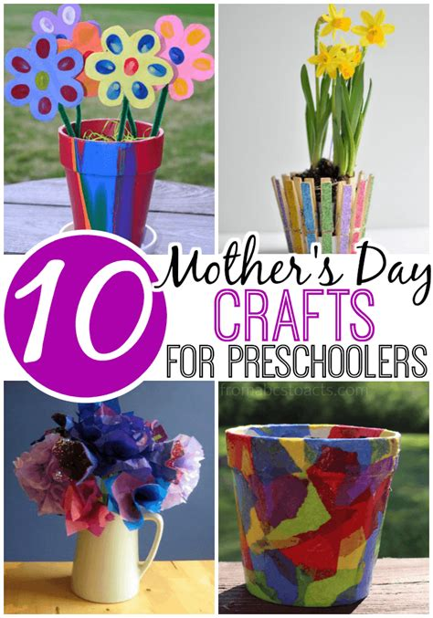 10 s day crafts for preschoolers from abcs to acts 628 | Mothers Day Crafts for Preschoolers to Make
