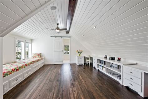 bed room cabinet wooden attic ceilings advantages and design ideas