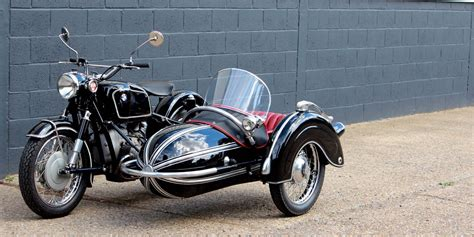 Bmw Motorcycle With Sidecar For Sale by 1957 Bmw R60 With Steib S501 Sidecar For Sale Factory