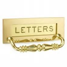 letter box british ironmongery With engraved letter box