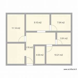 maison simple plan 7 pieces 66 m2 dessine par dab88 With plan de maisons gratuit 7 image maison simple