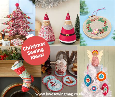 christmas sewing projects  patterns tutorials