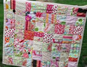 color scrappy baby quilt favequiltscom