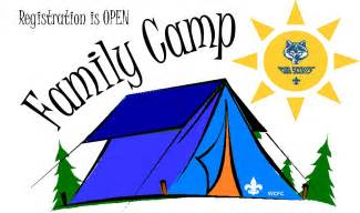 Cub Scout Family Camping Clip Art