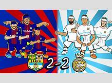 22 EL CLASICO KUNGFU FIGHTING!🥋🤛🏻 Barcelona vs Real