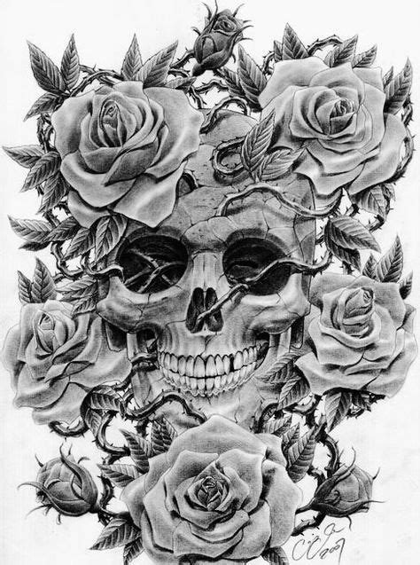 21 best rose and skull tattoos images on Pinterest | Skull rose tattoos, Tattoo ideas and Tattoo ink