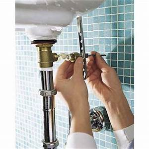 connect the pop up waste assembly how to replace a With how to install a bathroom faucet with pop up drain