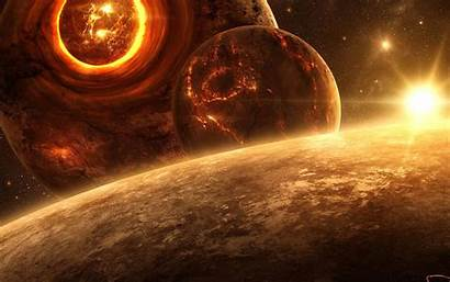 Space Wallpapers Planets Texture Pc Imploding Animated