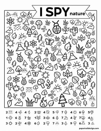 Spy Nature Printable Papertraildesign Paper Activity Trail