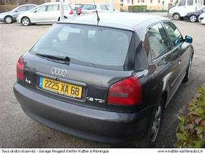 Audi A3 D Occasion : audi a3 tdi 110 cv 1999 occasion auto audi a3 ~ Gottalentnigeria.com Avis de Voitures