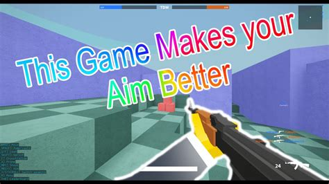 game   aim  roblox bad business