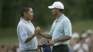 Tiger Woods Notah Begay team up to get first win in Begays ...