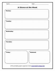 teacher39s week at a glance organizer With week at a glance lesson plan template