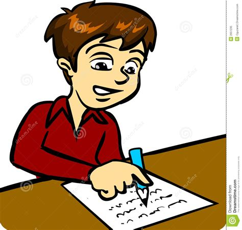 12703 writing letter clipart boy writing letter clipart clip library