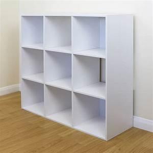 9, Cube, Kids, Pink, U0026, White, Toy, Games, Storage, Unit, Girls, Boys, Bedroom, Shelves, Boxes