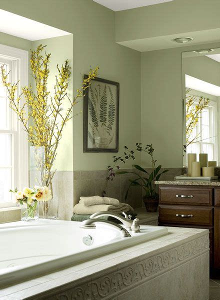 Green Paint Colors For Bathroom by Bathroom Color Ideas Inspiration In 2019 House