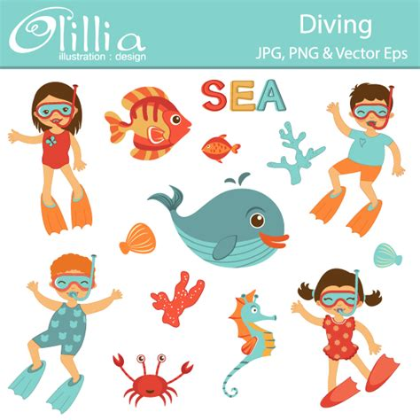 Dive Boat Clipart by Diver Cliparts