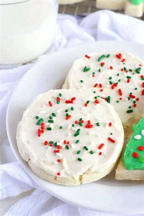 Fruity hard candies are melted onto a freshly baked cookie, which is. Gluten Free Frosted Sugar Cookies - What the Fork