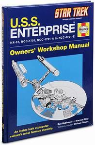 Star Trek  U S S  Enterprise Haynes Manual