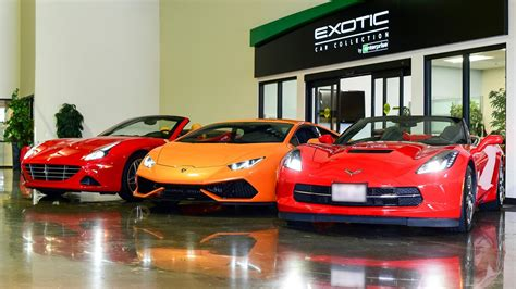 Sitezeus, Enterprise's Exotic Car Collection And More In