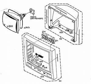 Toshiba 27a34 Television Parts