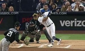 Padre's Christian Villanueva Hits Three Home Runs ...