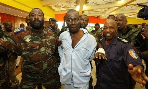 crise ivoirienne de   le premier grand proces de