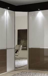 Eck Kleiderschrank Systeme : eck kleiderschrank shanghai von wiemann wei glas sahara m bel letz ihr online shop ~ Markanthonyermac.com Haus und Dekorationen